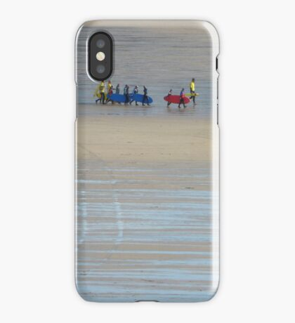 Going surfing, Cornwall iPhone Case
