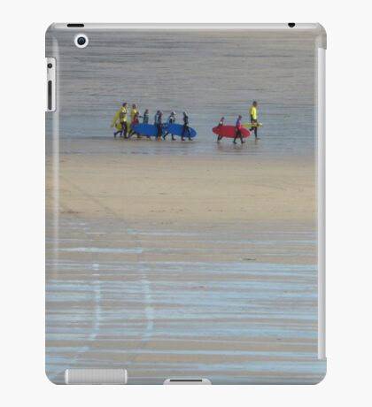 Going surfing, Cornwall iPad Case/Skin