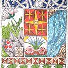 Meditation: Christmas Star 2 by Susan Genge