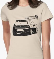 vw golf, golf gti Womens Fitted T-Shirt
