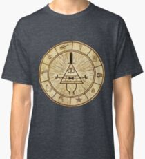 Bill Cipher Circle - Grafity Falls Classic T-Shirt