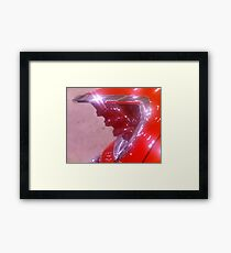 Fifties Tail Light Framed Print
