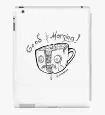 Good Morning Coffee iPad-Hülle & Klebefolie