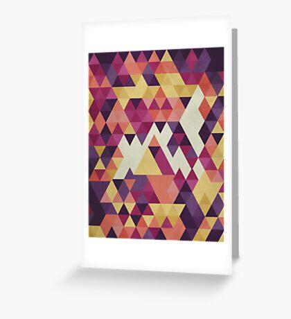 Geometri III Greeting Card