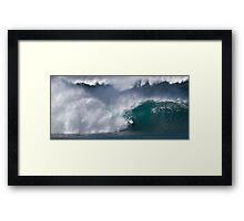 The Art Of Surfing In Hawaii 18 Framed Print