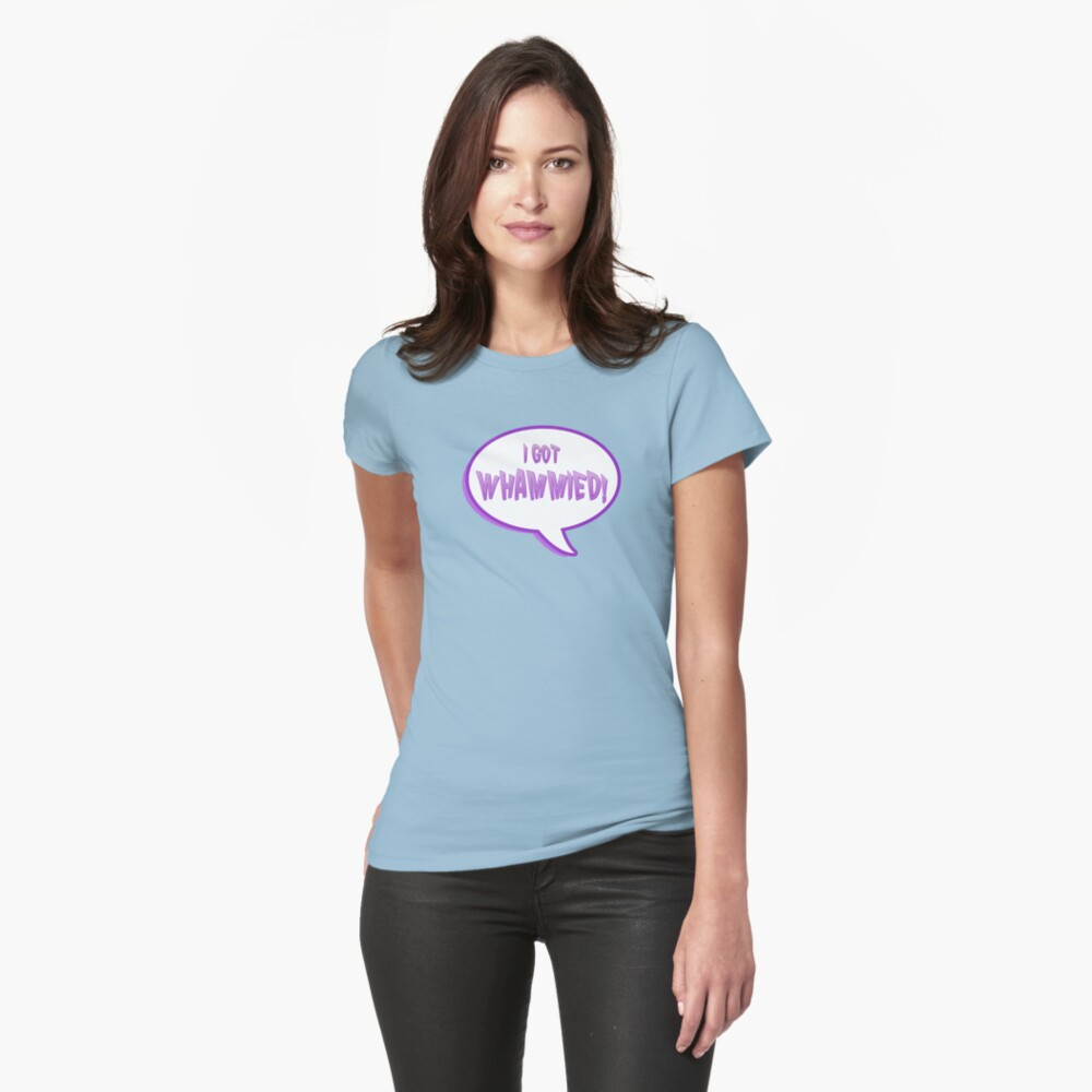double whammy Womens T-Shirt Front
