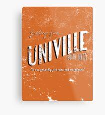 Greetings from Univille Metal Print