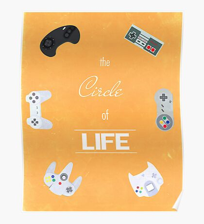 The Circle Of Video Games Poster