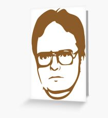 Dwight Kurt Schrute Greeting Card