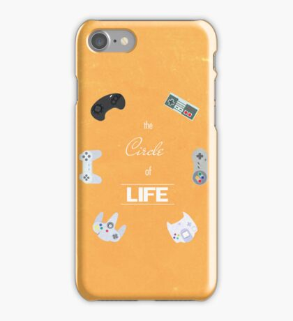 The Circle Of Video Games iPhone Case/Skin