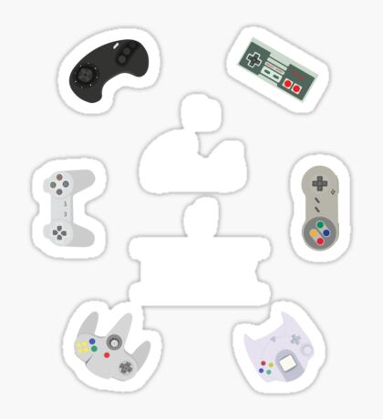 The Circle Of Video Games Sticker