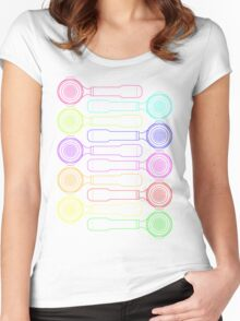 Portafilter Colors Women's Fitted Scoop T-Shirt