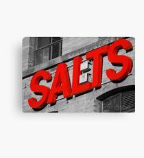 Salts. Canvas Print