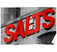 Salts. Poster