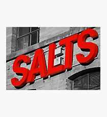 Salts. Photographic Print