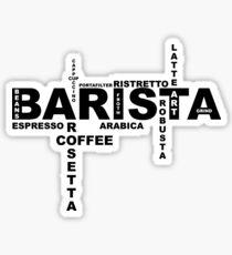 Barista II Sticker