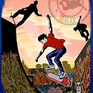 Skate City by Terry Fitzgibbon
