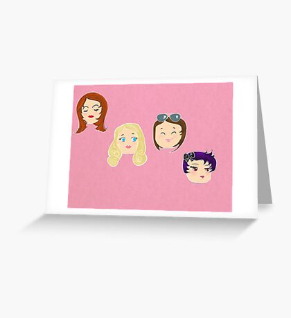 The girls Greeting Card