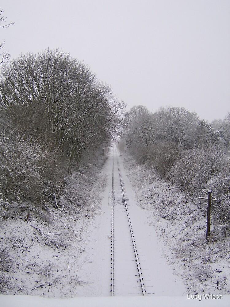 Winter Railway by Lucy Wilson