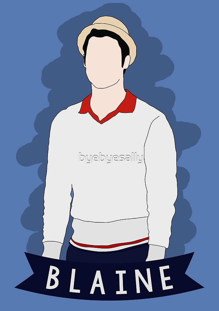 Blaine Anderson LFN by byebyesally