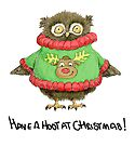 Have a Hoot at Christmas by Jennifer Kilgour
