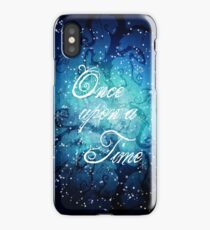 Once Upon A Time ~ Winter Snow Forest iPhone Case