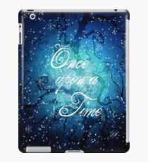 Once Upon A Time ~ Winter Snow Forest iPad Case/Skin
