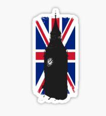Big Ben Grunge Sticker
