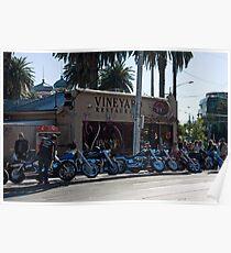 Vineyard Restaurant, St Kilda Poster