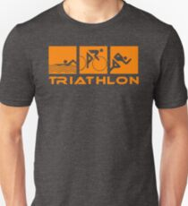 Triathlon modern icons Unisex T-Shirt
