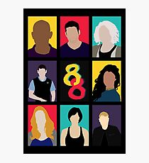 Sense8 Colors Photographic Print