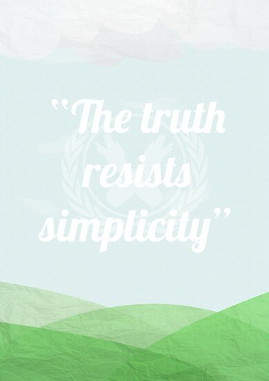 The Truth Resists Simplicity by polkadotpotato