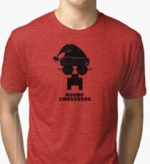 Marry Xmass Creeper  Tri-blend T-Shirt