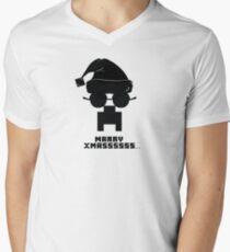 Marry Xmass Creeper  Mens V-Neck T-Shirt