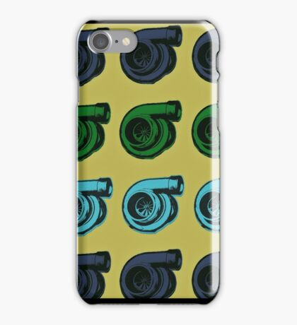 Colorful Turbos  iPhone Case/Skin