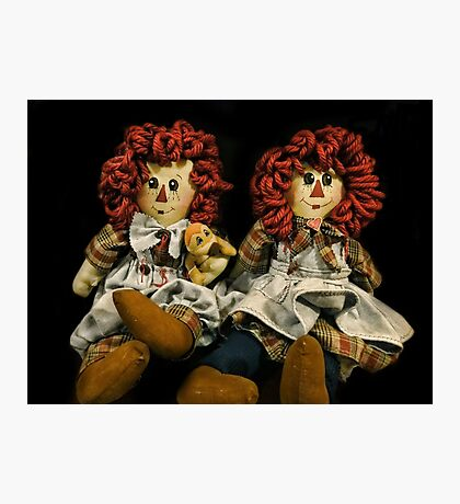 A Raggedy Pair Photographic Print