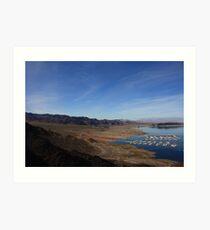 Lake Mead II Art Print