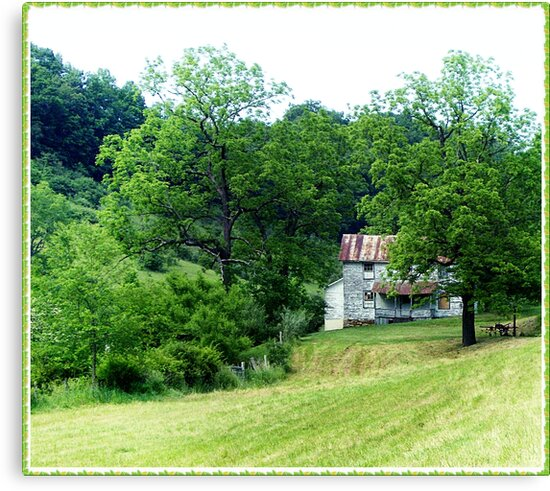 Bring In The Hay by Paul Lubaczewski