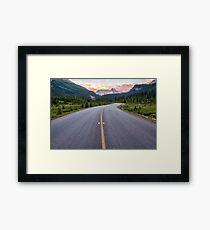 Yoho Road Framed Print