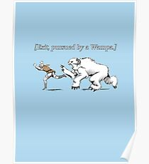 William Shakespeare's Star Wars: Exit, pursued by Wampa Poster
