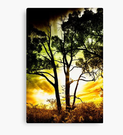 the power and the glory Canvas Print