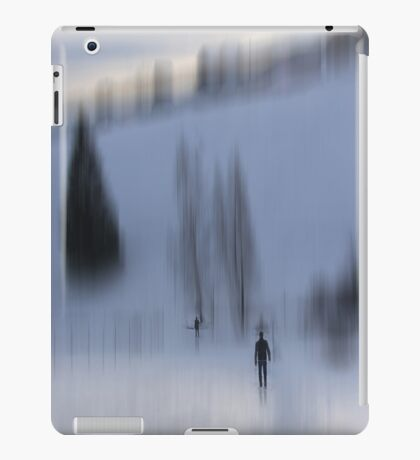 Winter Walk, Fischbacher Alps, Austria iPad Case/Skin