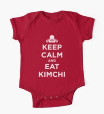 Keep Calm and Eat Kimchi One Piece - Short Sleeve