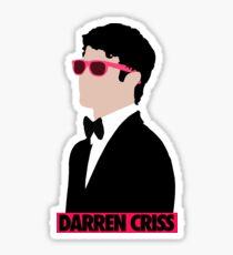 Darren Criss Golden Globes Sticker