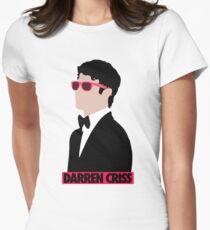 Darren Criss Golden Globes Women's Fitted T-Shirt