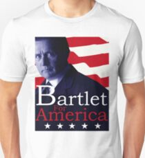 Bartlet for America - The West Wing Unisex T-Shirt