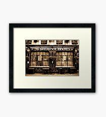 The Sherlock Holmes Pub Framed Print