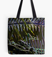 Hummer In The Palms Tote Bag