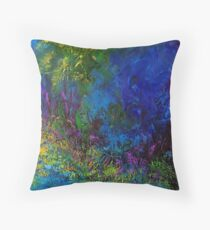 Moonbeam by Florida Artist John E Metcalfe Throw Pillow