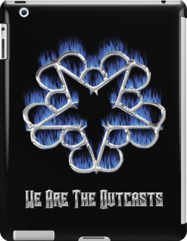 Fiery Chrome Black Veil Brides Star - We Are The Outcasts by joshjen10